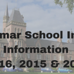 2016, 2015 and 2014 School Intake Information