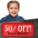 Register For School Discount