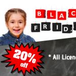 BLACK FRIDAY – 20% OFF EVERYTHING!