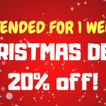 Christmas Deal – 20% Off!