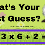 What's Your Best Guess?
