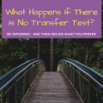 What Happens If There Is No Transfer Test in 2020?