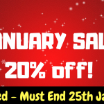 January Deal – 20% OFF!